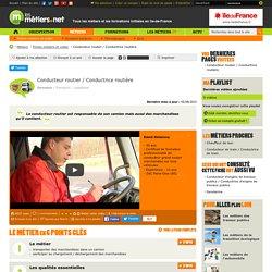 Conducteur routier / Conductrice routière