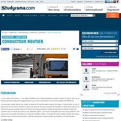Conducteur routier