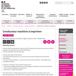 Conducteur machine à imprimer