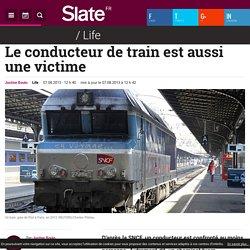 Le conducteur de train est aussi une victime