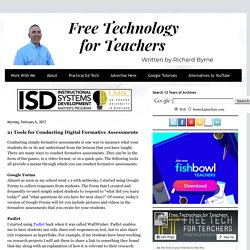 21 Tools for Conducting Digital Formative Assessments