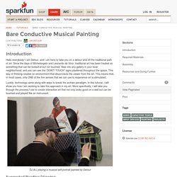 Bare Conductive Musical Painting