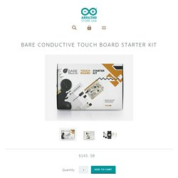 Bare Conductive Touch Board Starter Kit – Arduino Store USA