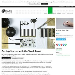 Getting Started with the Touch Board – Bare Conductive