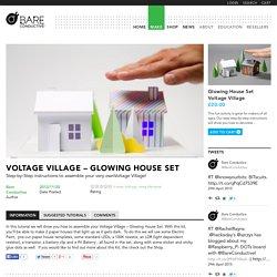 Voltage Village - Glowing House Set - Bare ConductiveBare Conductive