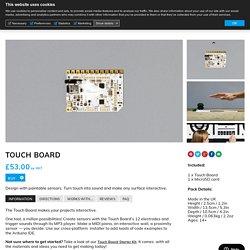 Touch Board - Bare ConductiveBare Conductive