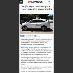 Google logra permisos para rodar sus autos sin conductor