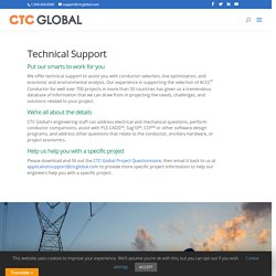 CTC Global – Technical Support