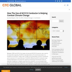 How the use of ACCC® Conductor is helping combat climate change
