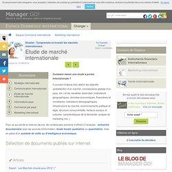 Conduire une étude de marché à l'internationale - méthode