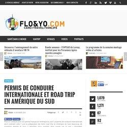 Permis de conduire internationale et Road Trip en Amérique du Sud