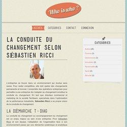 La conduite du changement selon Sébastien Ricci