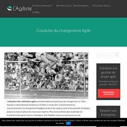 Conduite du changement Agile