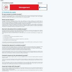 Conduite de projets - Management