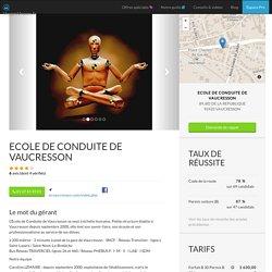 ECOLE DE CONDUITE DE VAUCRESSON à Vaucresson - Vroomvroom.fr