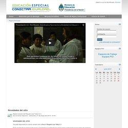 Conectar Igualdad - Educación especial