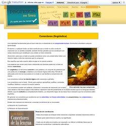 Conectores (lingüística)