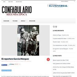 El reportero García Márquez