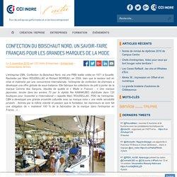 Confection du Boischaut Nord, un savoir-faire français pour les grandes marques de la mode