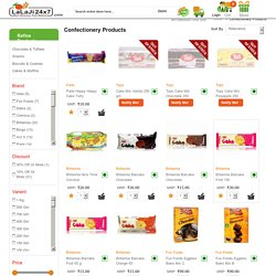 Confectionery Products Online at Cheap Price - Lalaji24x7