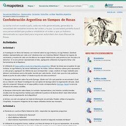 Confederación Argentina en tiempos de Rosas