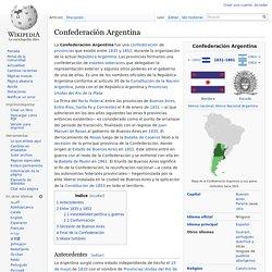 Confederación Argentina