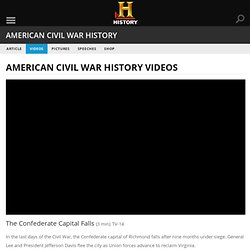 The Confederate Capital Falls — History.com Video