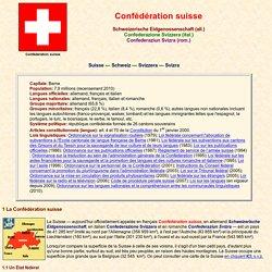 Confédération suisse: introduction