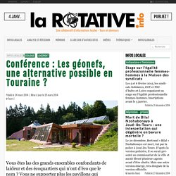 Conférence : Les géonefs, une alternative possible en Touraine ?