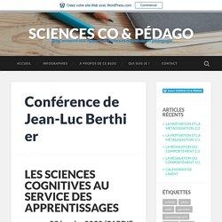 Conférence de Jean-Luc Berthier – SCIENCES CO & PÉDAGO