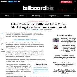 Billboard Latin Conference