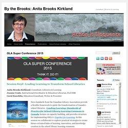 By the Brooks: Anita Brooks Kirkland