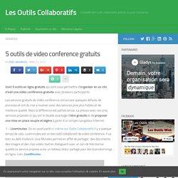 5 outils de video conference gratuits