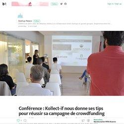 Conférence : Kollect-if nous donne ses tips pour réussir sa campagne de crowdfunding – Opération Éléphant – Medium