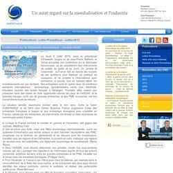 Conférence sur la Diplomatie économique : compte-rendu