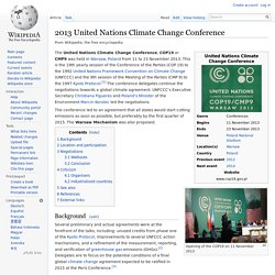 2013 United Nations Climate Change Conference