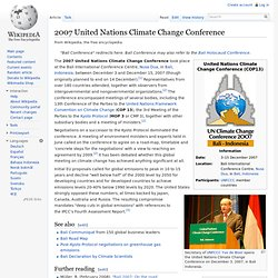 2007 United Nations Climate Change Conference