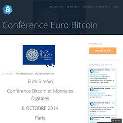 Conférence Euro Bitcoin | Bitcoin France