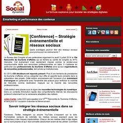 [Conférence] – Stratégie évènementielle et réseaux sociaux