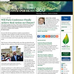 Will Paris Conference Finally Achieve Real Action on Climate? by Fred Pearce: Yale Environment 360