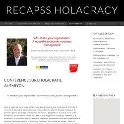 Conférence sur l'holacratie à l'EMLYON
