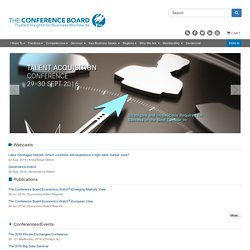 The Conference Board - Trusted Insights for Business Worldwide