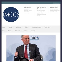 """Climate Change More Prominent Than Ever at Munich Security Conference with """"World Climate Security Report 2020"""" Release – International Military Council on Climate and Security"""