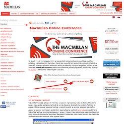 Online Conference - konference a semináře pro učitele angličtiny