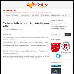 """Quelles méthodes """"e-Learning"""" pour favoriser les apprentissages ? Conférence Claroline du 9 décembre 2010 à Centrale Lyon. Marcel Lebrun. Ecole Centrale de Lyon. IDEA LearningLab."""