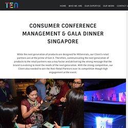 Conference Management Singapore, Gala Dinner Singapore