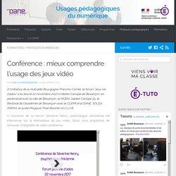 Conférence : mieux comprendre l'usage des jeux vidéo