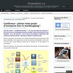 Conférence : pilotez votre projet d'entreprise avec le mindmapping