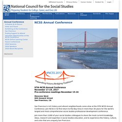 NCSS Annual Conference | National Council for the Social Studies