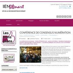 Conférence de consensus numération